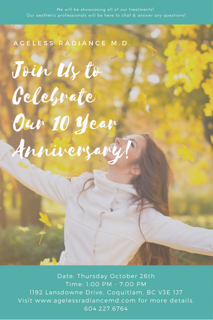 Join Us to Celebrate Our 10 Year Anniversary!